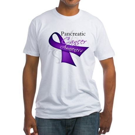 AwarenessPancreaticCancer Fitted T-Shirt