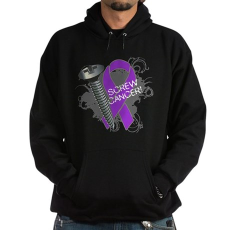 Screw Pancreatic Cancer Hoodie (dark)