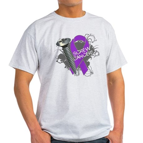 Screw Pancreatic Cancer Light T-Shirt