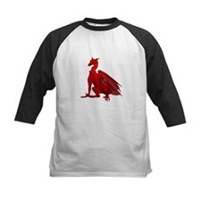Sitting Red Dragon Tee