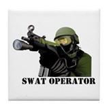 SWAT Tile Coaster