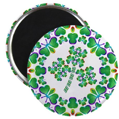 "Shamrock Dream 2.25"" Magnet (100 pack)"