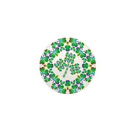 Shamrock Dream Mini Button (10 pack)