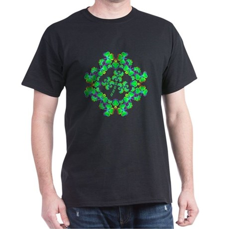 Shamrock Dream Black T-Shirt