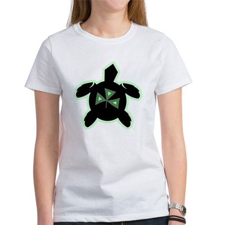 Shamrock Sea Turtle Women's T-Shirt