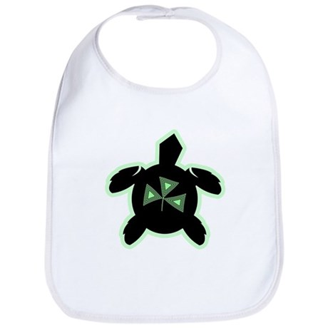 Shamrock Sea Turtle Bib