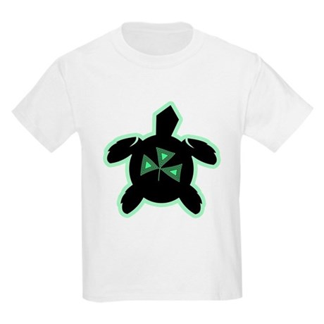Shamrock Sea Turtle Kids T-Shirt