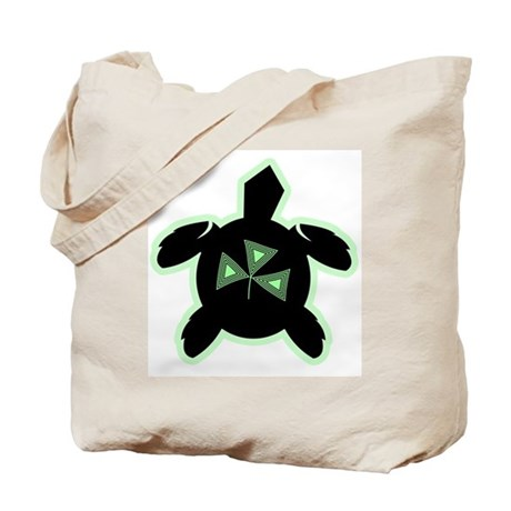 Shamrock Sea Turtle Tote Bag