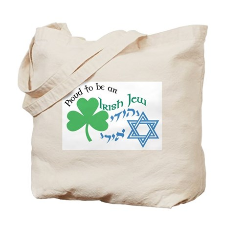Proud Irish Jew Tote Bag