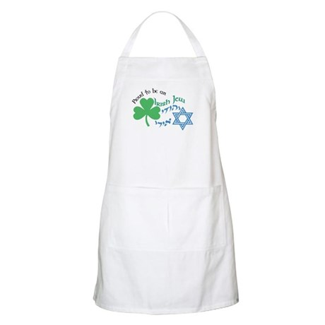 Proud Irish Jew BBQ Apron