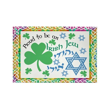 Proud Irish Jew Rectangle Magnet
