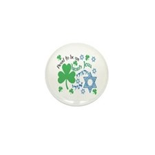 Proud Irish Jew Mini Button (10 pack)