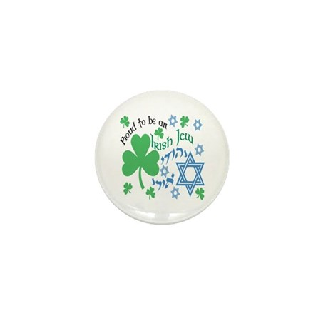 Proud Irish Jew Mini Button (100 pack)