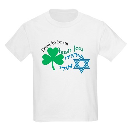 Proud Irish Jew Kids T-Shirt
