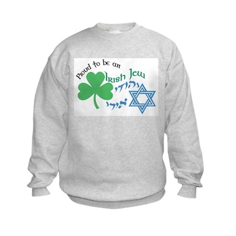 Proud Irish Jew Kids Sweatshirt
