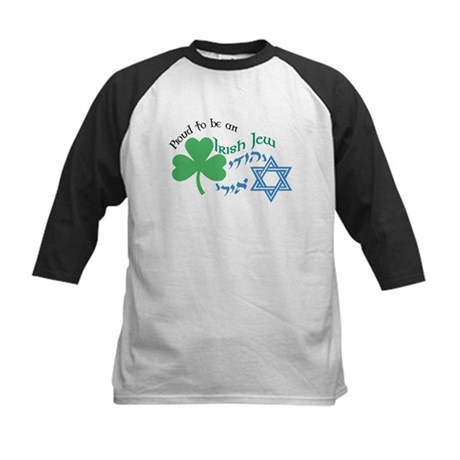 Proud Irish Jew Kids Baseball Jersey