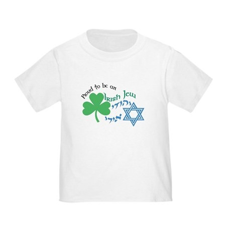 Proud Irish Jew Toddler T-Shirt