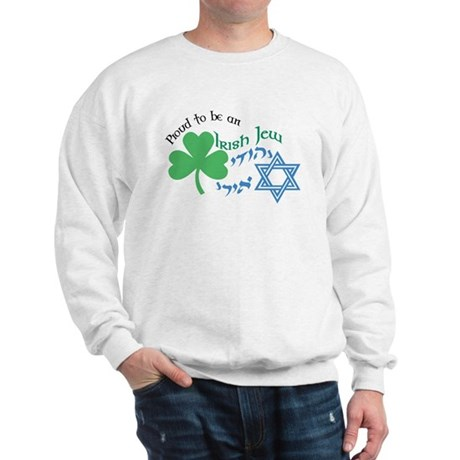 Proud Irish Jew Sweatshirt