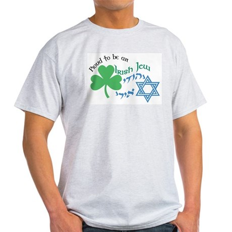 Proud Irish Jew Ash Grey T-Shirt