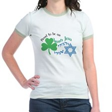 Proud Irish Jew Jr. Ringer T-Shirt