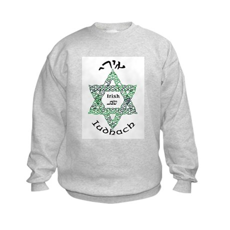 Irish Jew (Hebrew) Kids Sweatshirt