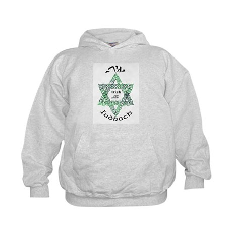 Irish Jew (Hebrew) Kids Hoodie