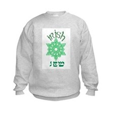 Irish Jew Kids Sweatshirt