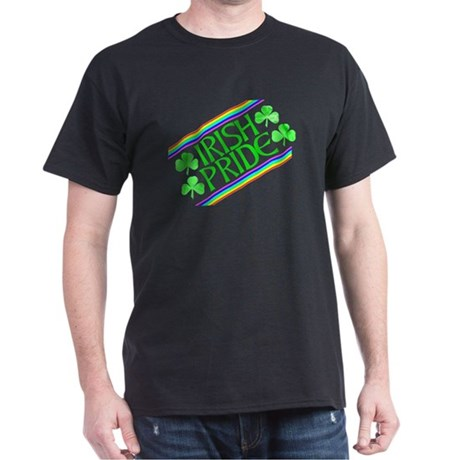 Irish Pride Black T-Shirt