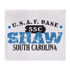 Shaw Air Force Base Throw Blanket