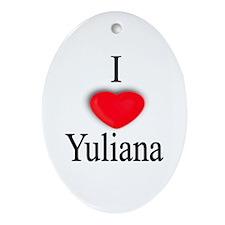 Yuliana Oval Ornament