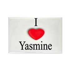 Yasmine Rectangle Magnet