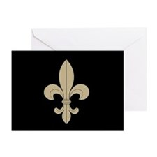 FLEUR DE LIS: Greeting Cards (Pk of 20)