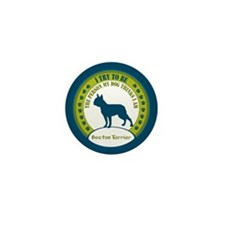 Boston Terrier Mini Button (10 pack)