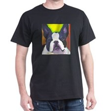 Black & White French Bulldog T-Shirt