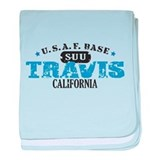 Travis Air Force Base baby blanket