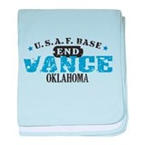 Vance Air Force Base baby blanket
