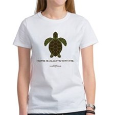 Turtle Women's White T-Shirt