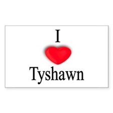 Tyshawn Rectangle Decal