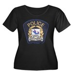 Laval Quebec Police Women's Plus Size Scoop Neck D