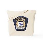 Laval Quebec Police Tote Bag