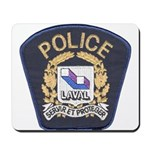 Laval Quebec Police Mousepad