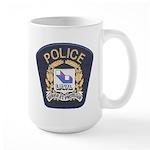 Laval Quebec Police Large Mug