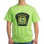 Laval Quebec Police Green T-Shirt