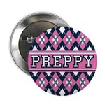 "Pink Argyle Preppy 2.25"" Button (10 Pk)"