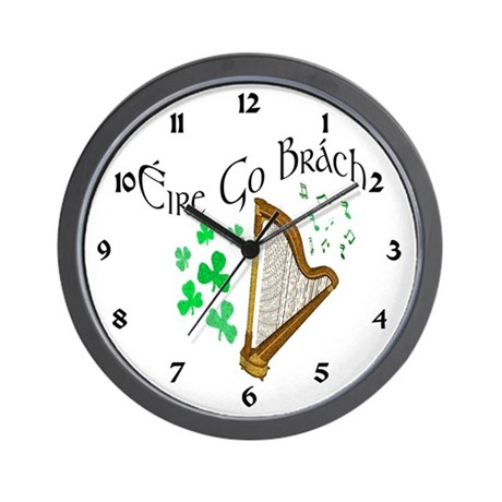 ire Go Brch Wall Clock