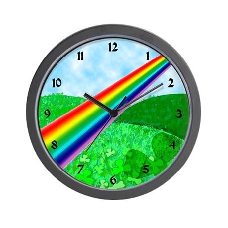 Green Hills Wall Clock
