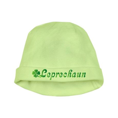 Leprechaun St Patricks Day Green Baby Hat