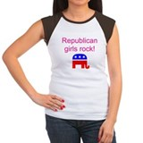 Republican Grils Rock Tee