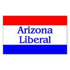 Arizona Liberal Rectangle Decal