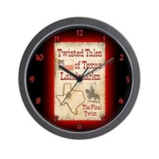 Funny Marfa texas Wall Clock